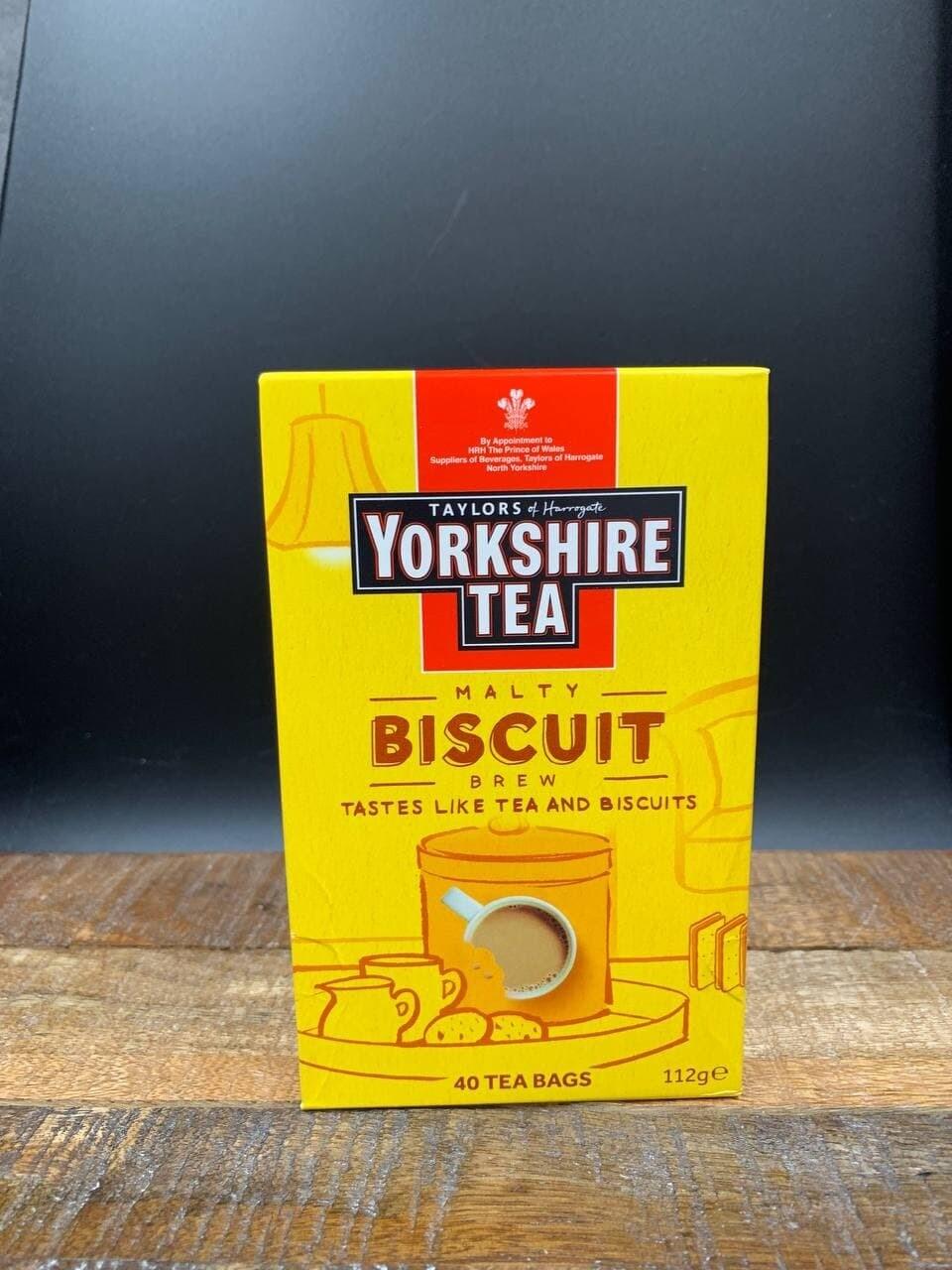 Yorkshire Tea Malty Biscuit Brew 40's 112g