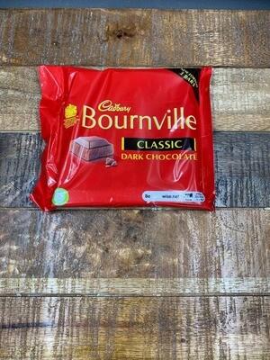 Cadbury Bournville Classic Dark Chocolate 3 Pack 135g
