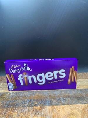 Cadbury Dairy Milk fingers 114g