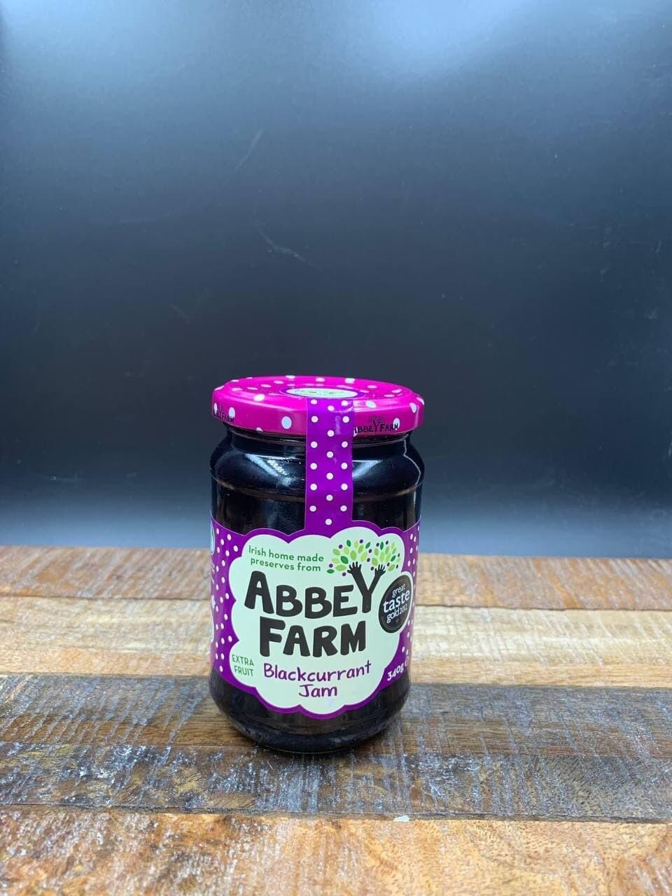 Abbey Farm Blackcurrant Jam 340g