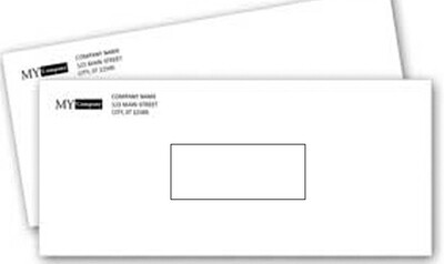 Window #10 Envelope (with printing)