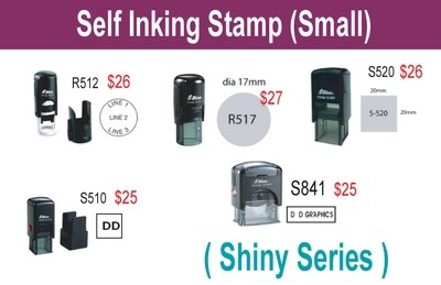 Self inking stamp (Small)