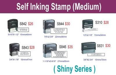 Self inking stamp (Medium)