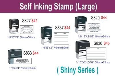 Self inking stamp (Large)