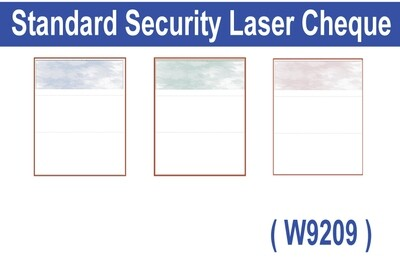 High Security Laser Cheque