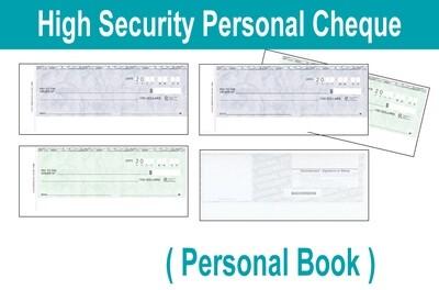 Personal Cheque Book (1 copy)