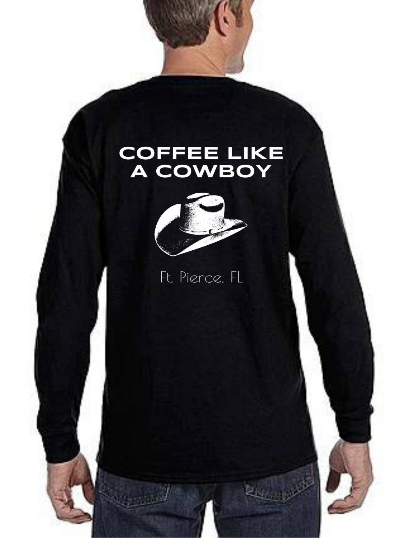 Coffee Like a Cowboy T-Shirt