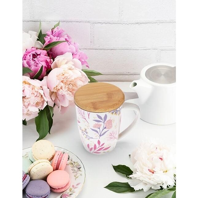 Pinky Up Ceramic Tea Mug