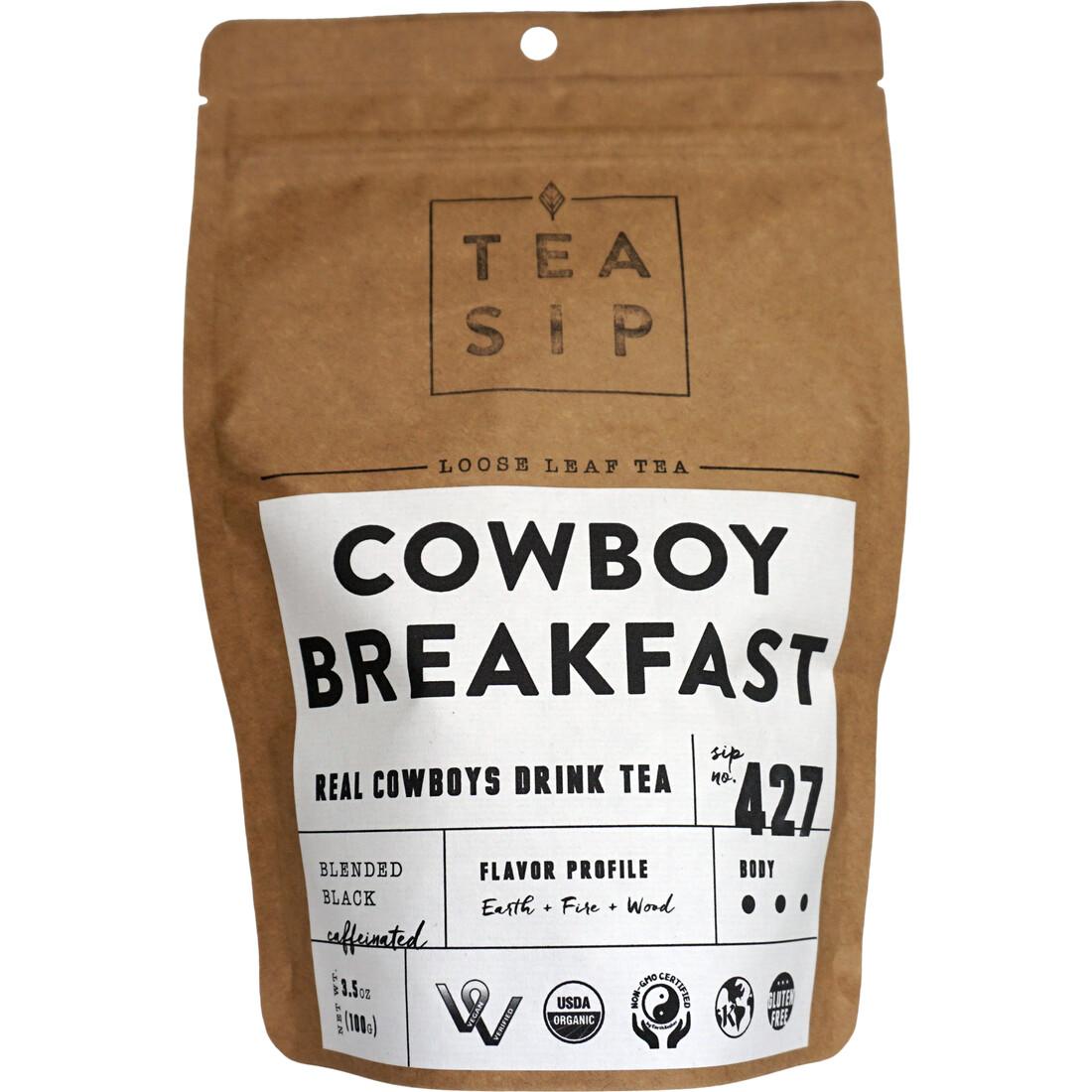Cowboy Breakfast Tea 3.5 oz
