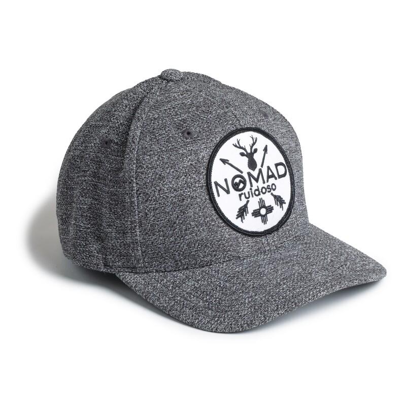 Nomad Flexfit Hat - CHR/WHT PATCH