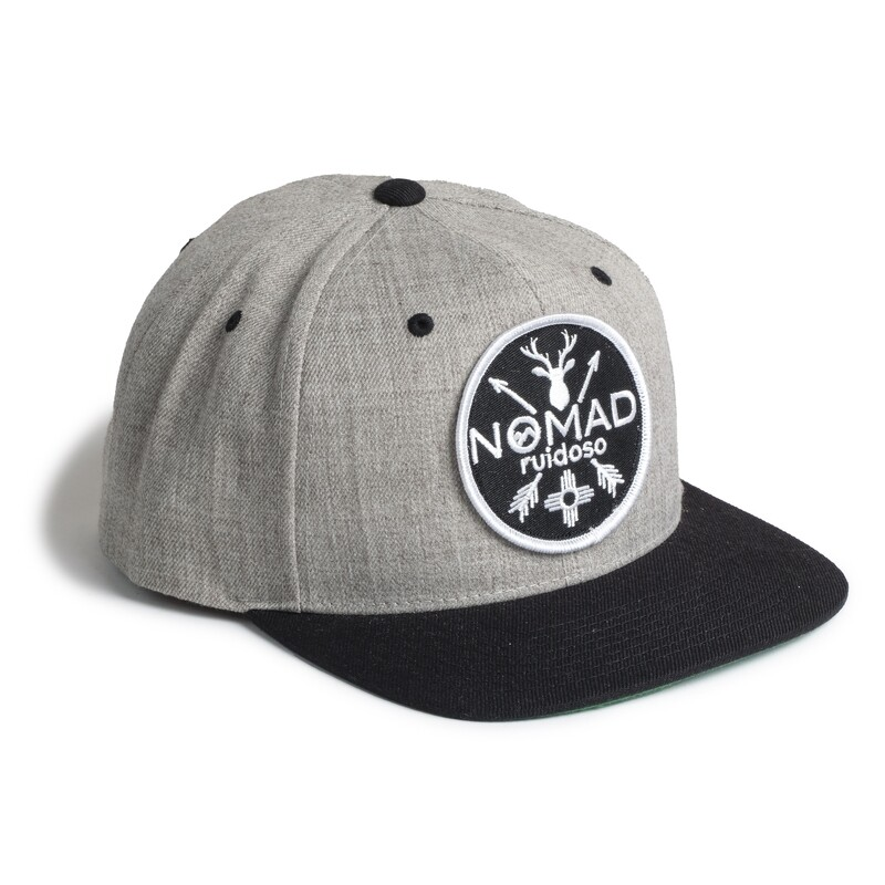 Nomad Gry/Blk Hat NM Patch