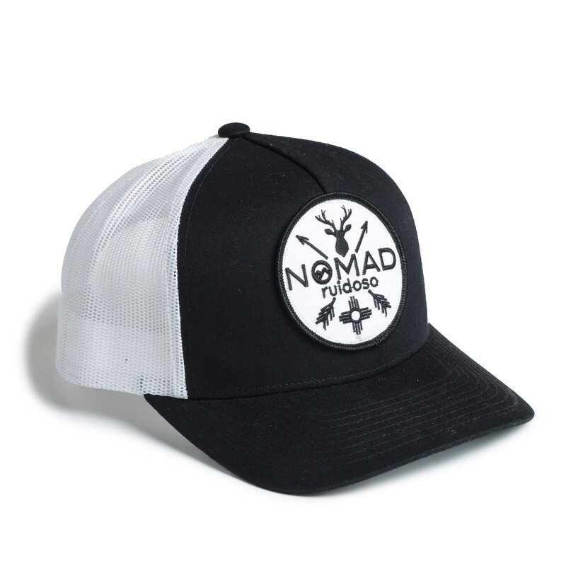 Nomad White Patch Hat