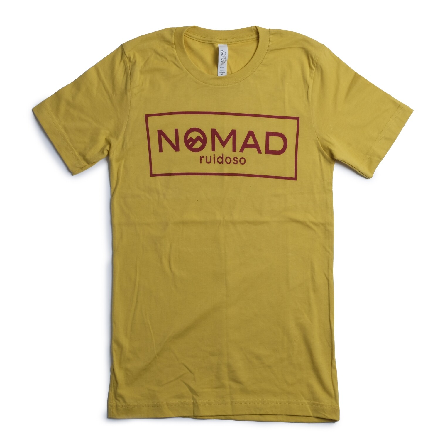 Nomad SS Boxed Logo - YELLOW