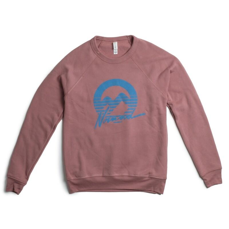 Nomad Raglan Sweater - Mauve