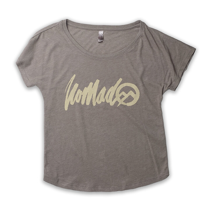 Nomad SS W Rough Logo - VtnGry