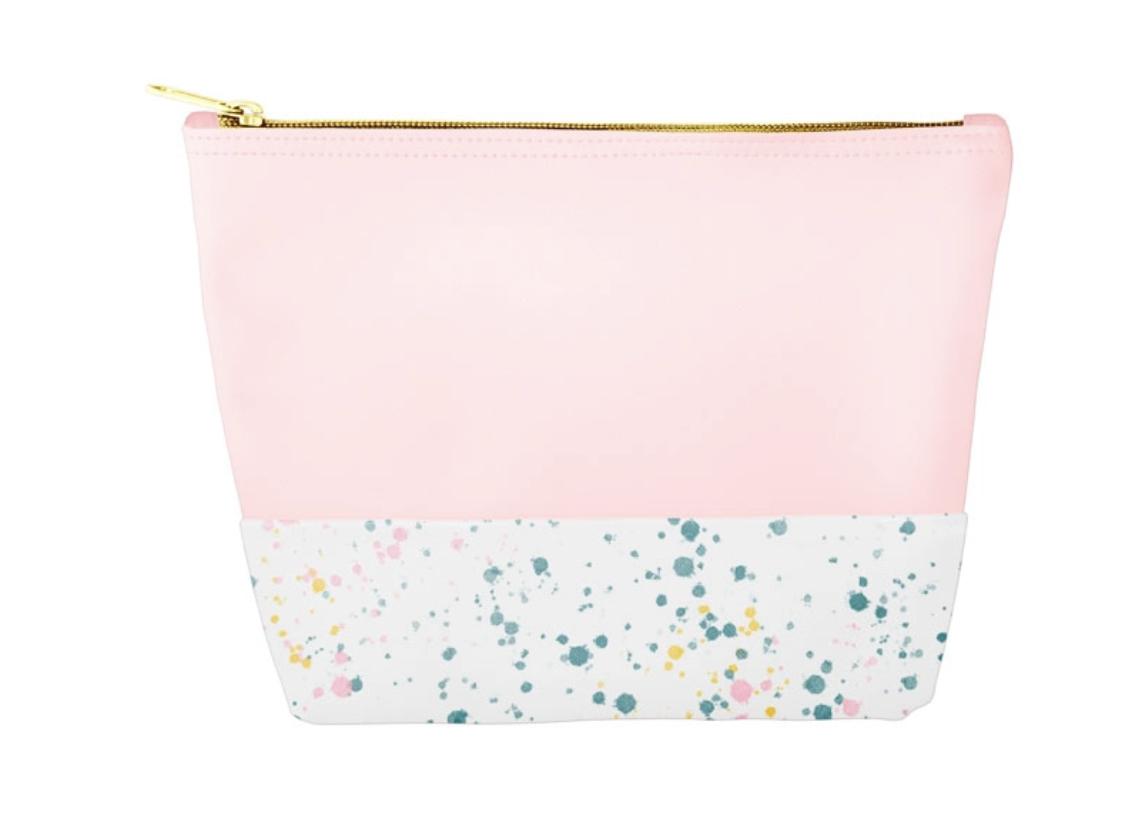 Pink Splatter Bag