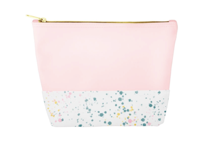 Pink Splatter Bag