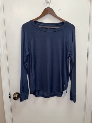 Boody: goodnight raglan sleep top navy