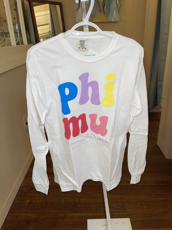 Multicolor LS: Phi Mu