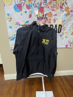 Sorority Rain Jacket: Chi O