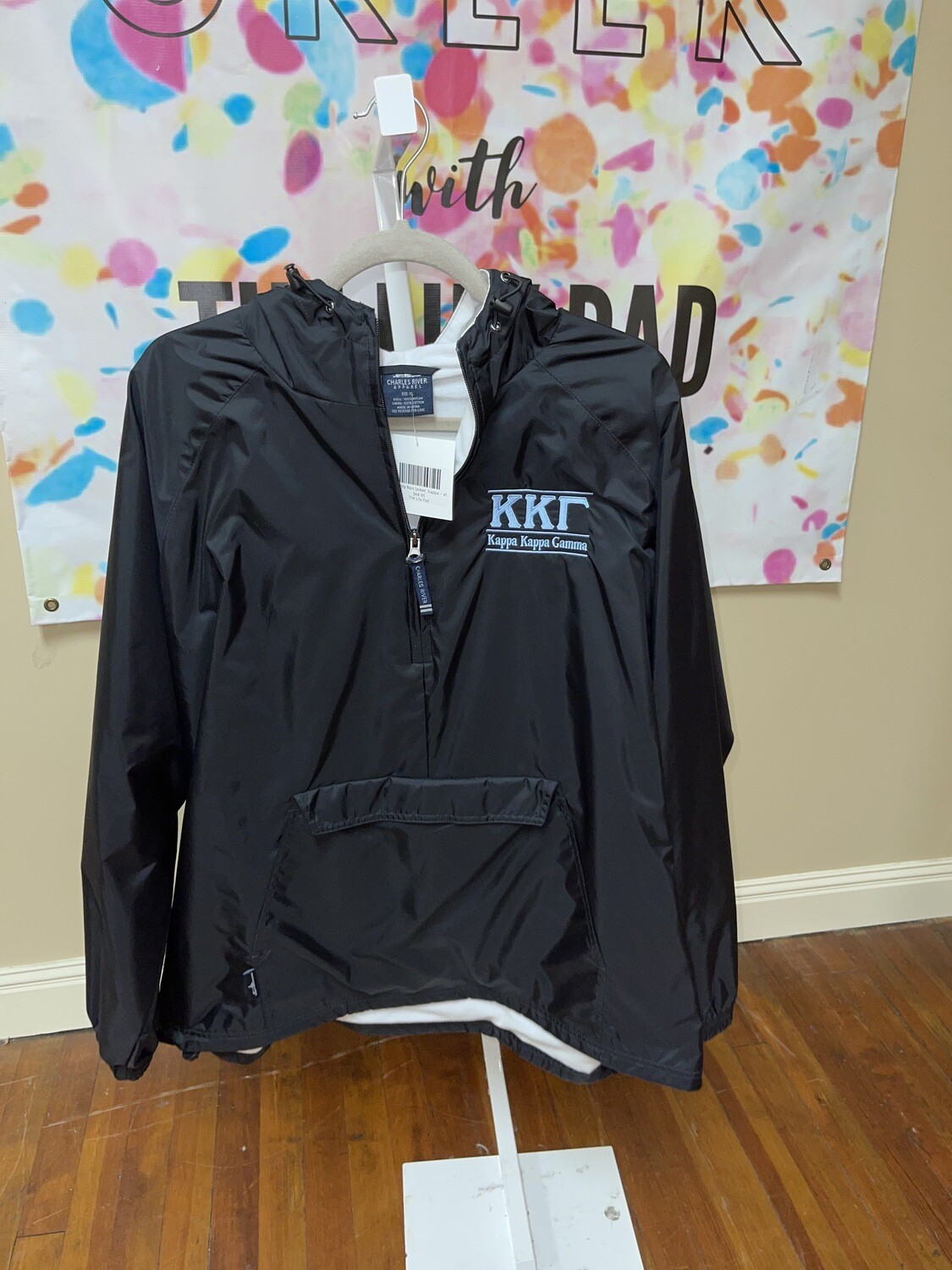 Sorority Rain Jacket: Kappa
