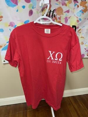 Star SS T-Shirt: Chi O