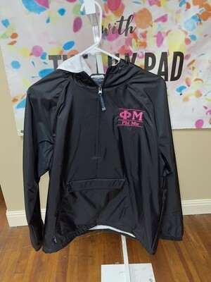 Sorority Rain Jacket: Phi Mu