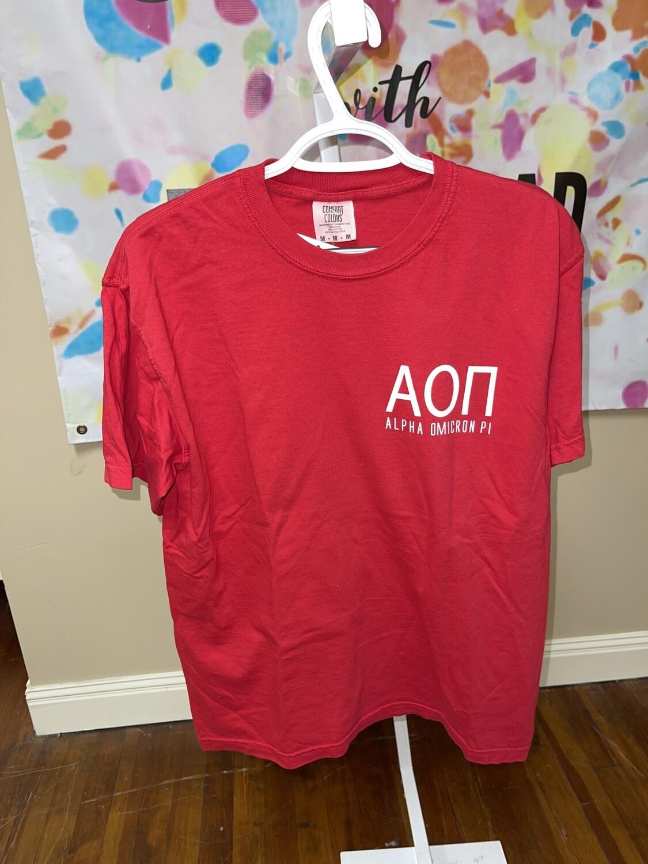 Star SS T-Shirt: AOII