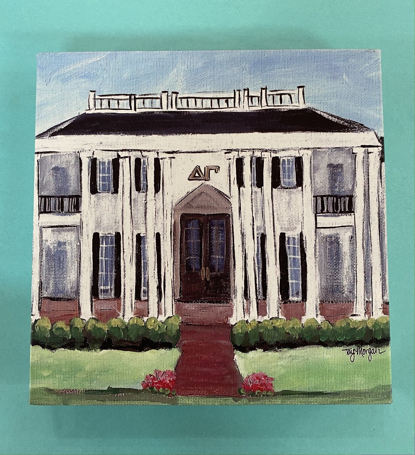 8X10 House Painting