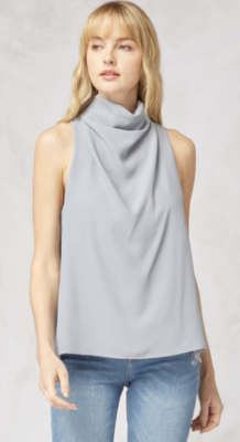 Entro: High Neck Tank Grey