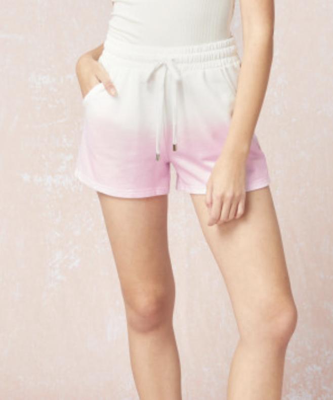 Entro: Pink/White Short