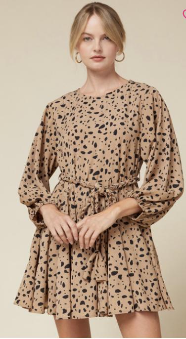 Entro: Cheetah Dress