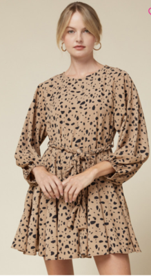 Entro: cheetah dress
