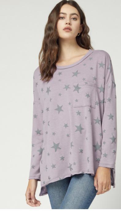 Entro: Purple Star Sleep Shirt