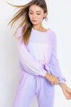 Lelis: Purple Long Sleeve