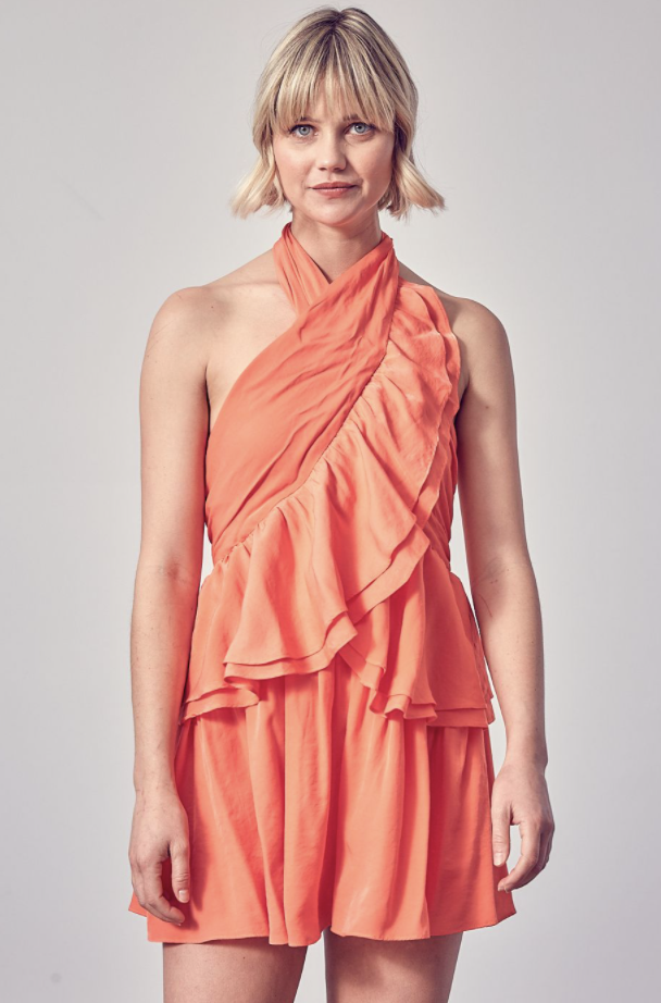 DO+BE: Halter Neck Dress