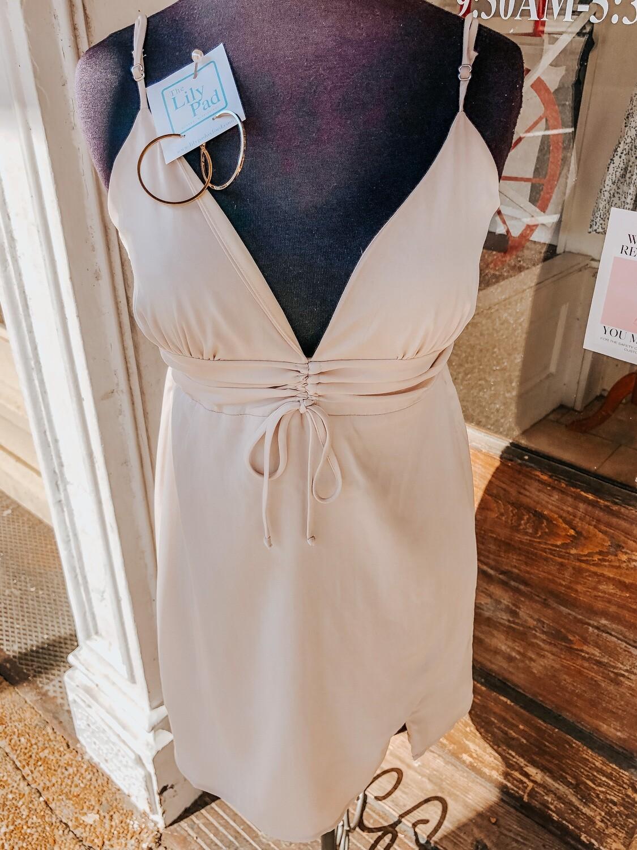 Lelis: Smocked Mini Dress