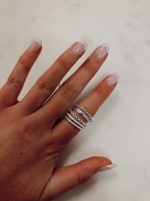 Infinity Ring: Silver