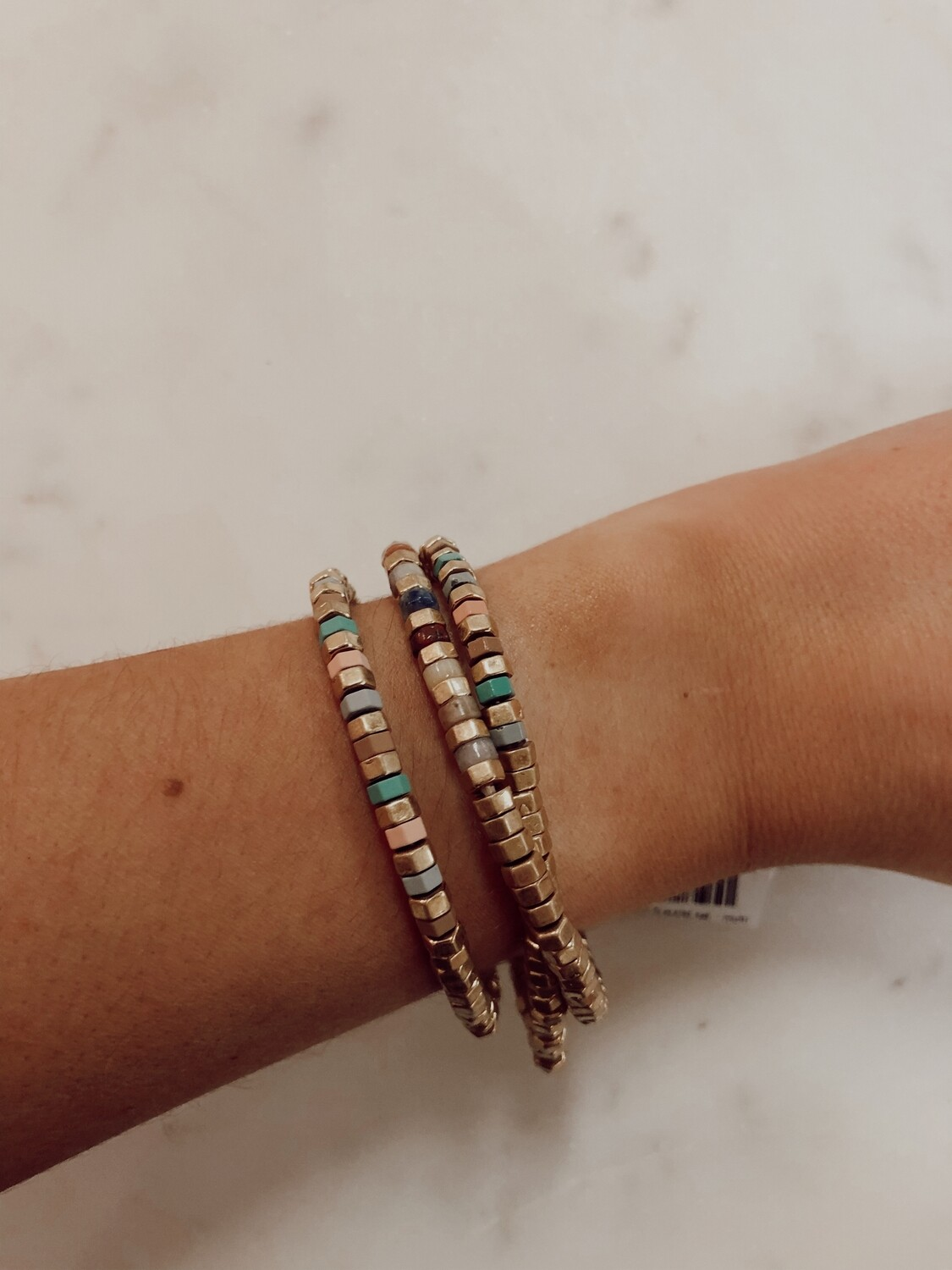 Hex Bead Bracelet set