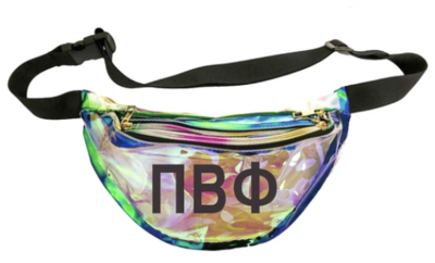 Greek Fanny Pack Clear