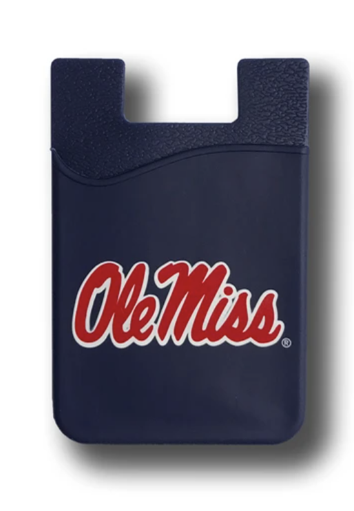 ole miss phone wallets