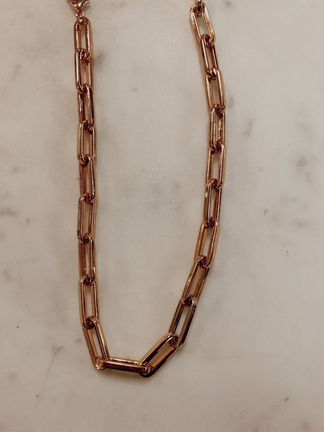 link chain large necklace