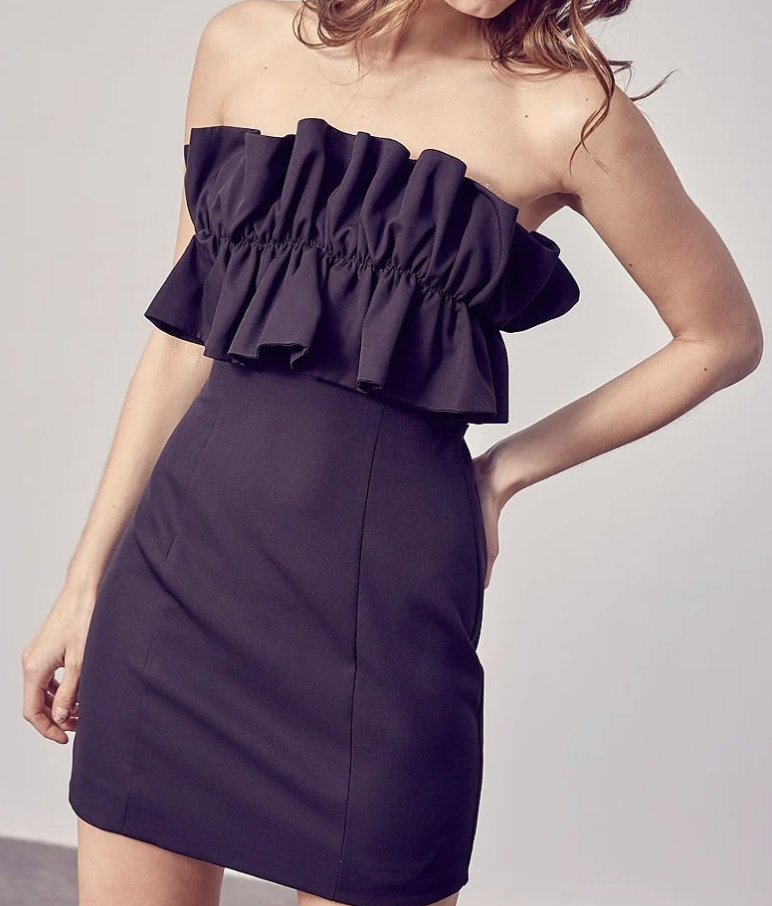 DO+BE: Ruffle Dress