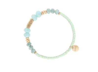 LIZAS: Jewel and Gold Bracelet