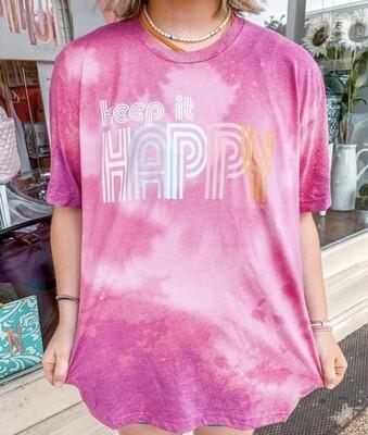 Keep It Happy Boyfriend Tee