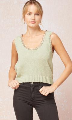 Entro: Sage Sweater Top
