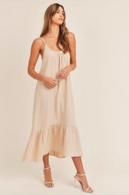 Mable: Sleeveless Long Dress
