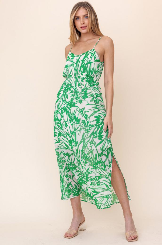 Gilli: Elastic Waist Maxi Dress