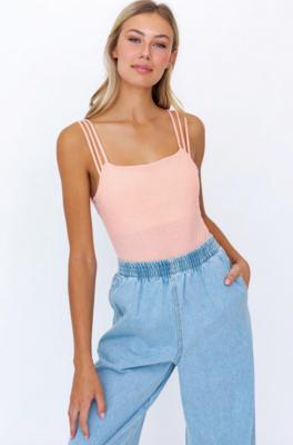 Lelis: Three Strap Bodysuit