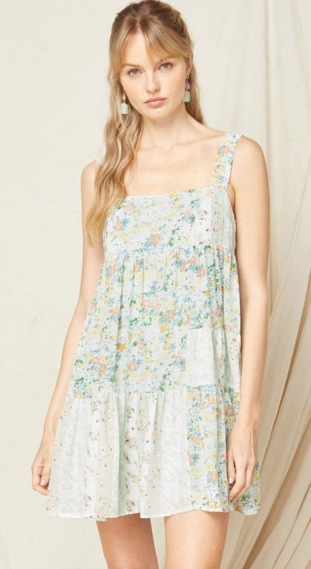 Entro: Floral Dress